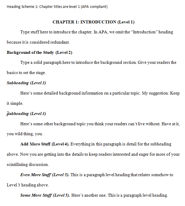 Apa 6 dissertation chapter titles esl scholarship essay editor site for school